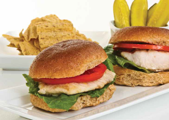 Florida Fish Mini Burgers